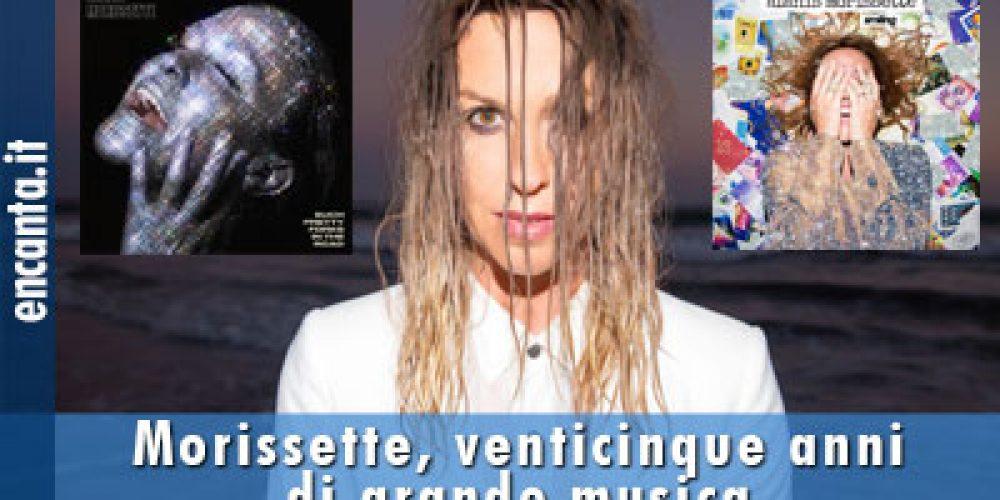 Morissette, venticinque anni di grande musica