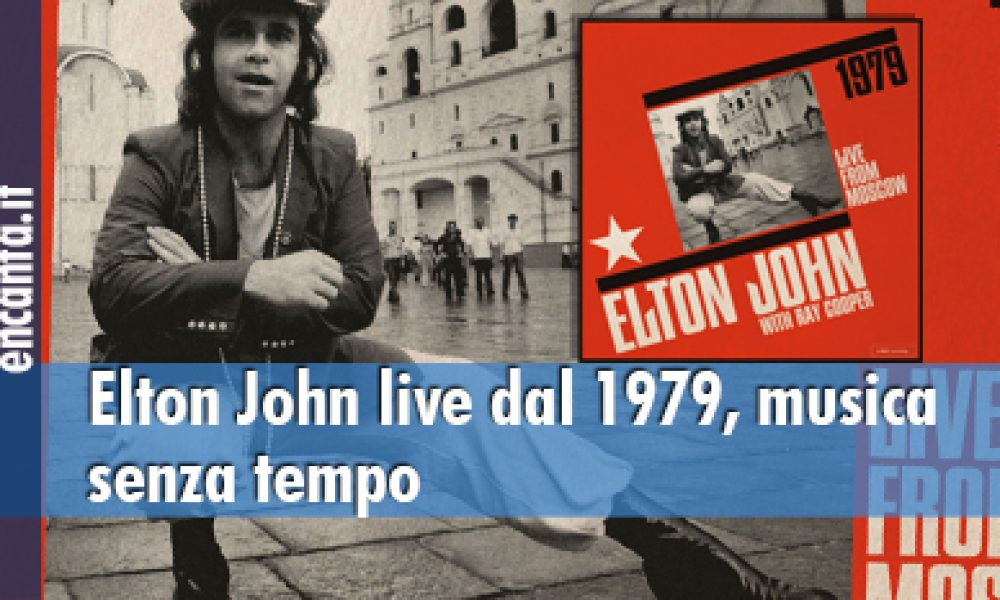 Elton John live dal 1979, musica senza tempo