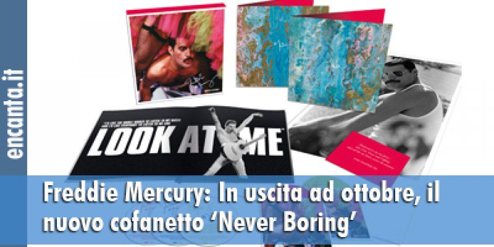 Freddie Mercury: In uscita ad ottobre, il cofanetto 'Never Boring'