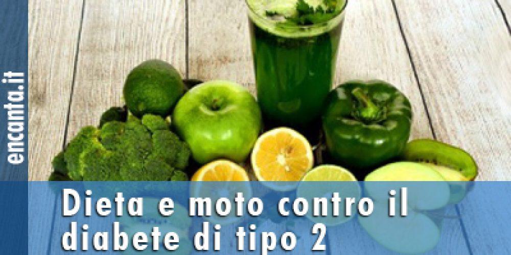 Dieta e moto contro il diabete di tipo 2
