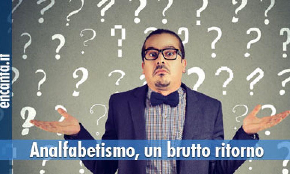 Analfabetismo in Italia, funzionale e di ritorno