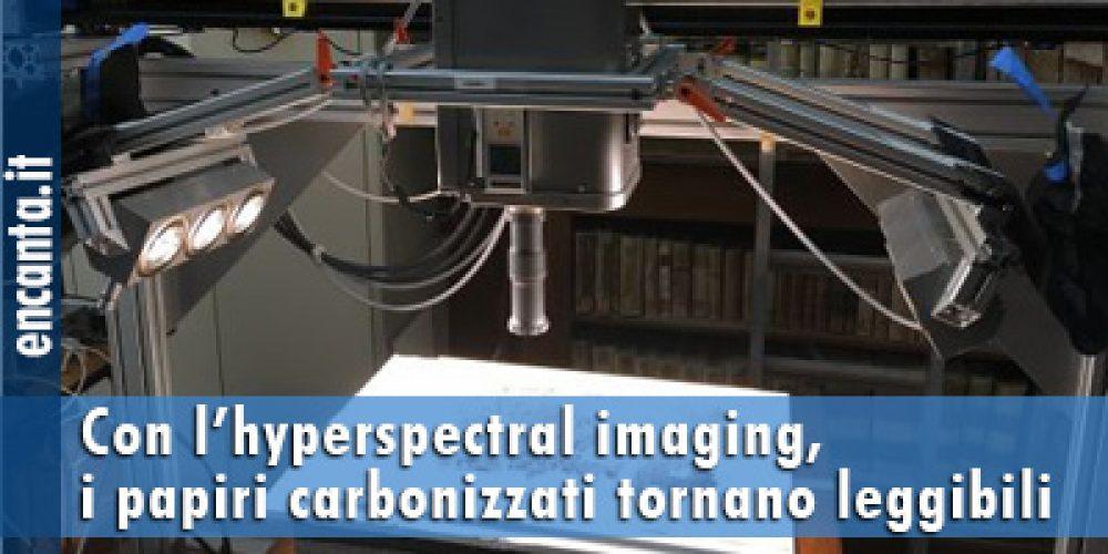 Con l'hyperspectral imaging,  i papiri carbonizzati tornano leggibili