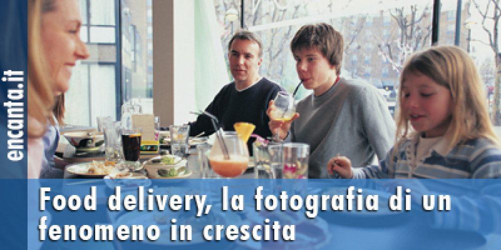 Food delivery, la fotografia di un fenomeno in crescita