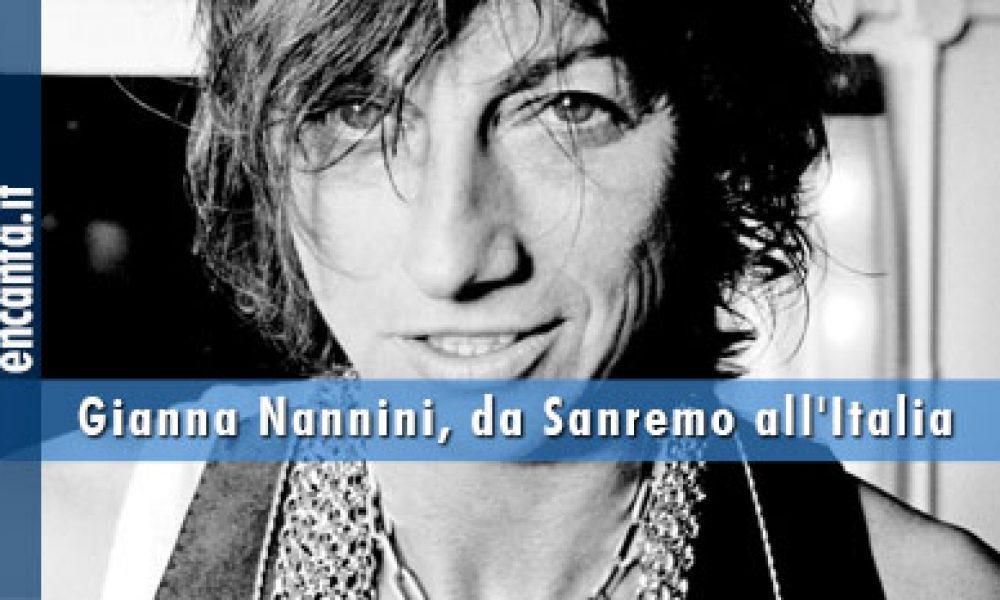 Gianna Nannini, da Sanremo all'Italia