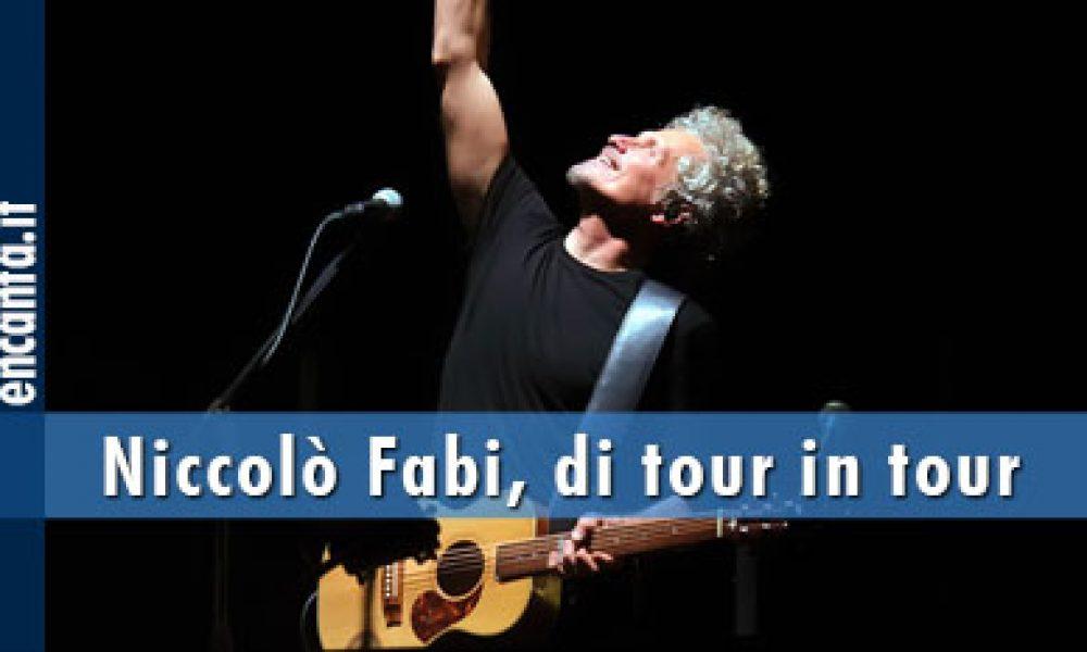 Niccolò Fabi, di tour in tour