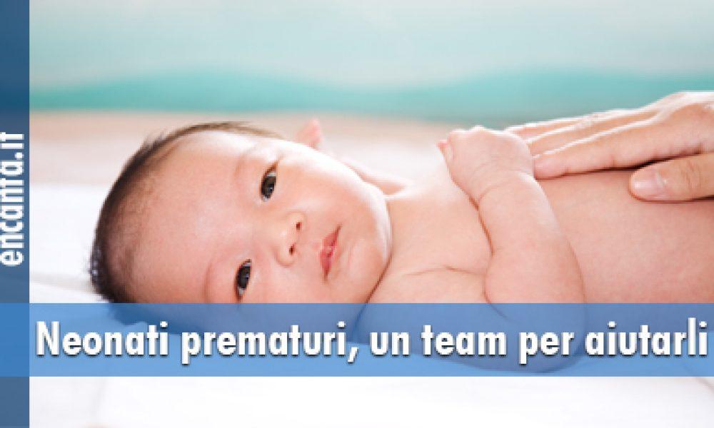 Neonati prematuri, un team per aiutarli