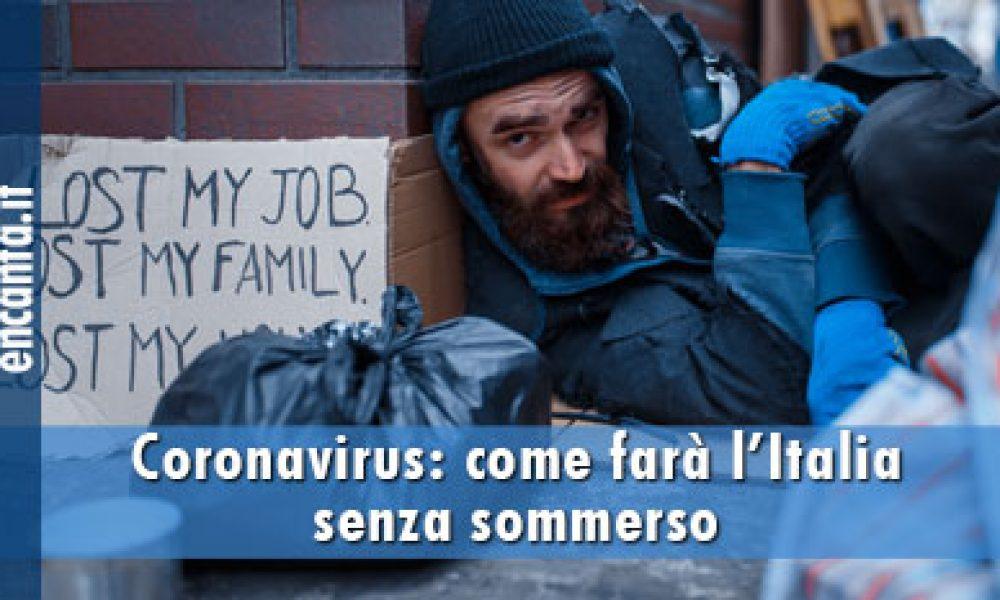 Coronavirus: come farà l'Italia senza sommerso