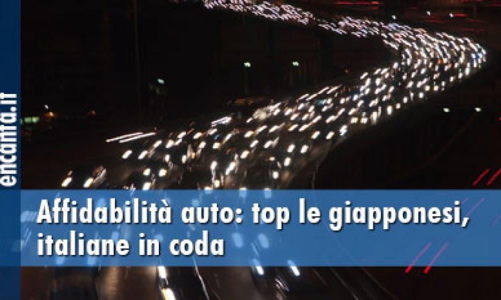 Affidabilità auto: top le giapponesi, italiane in coda
