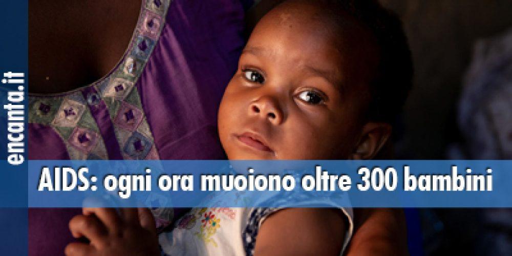 AIDS: ogni ora muoiono oltre 300 bambini