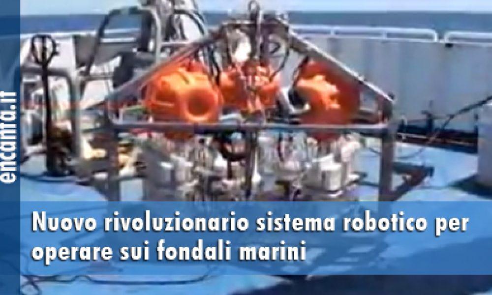Nuovo rivoluzionario lander per operare sui fondali marini