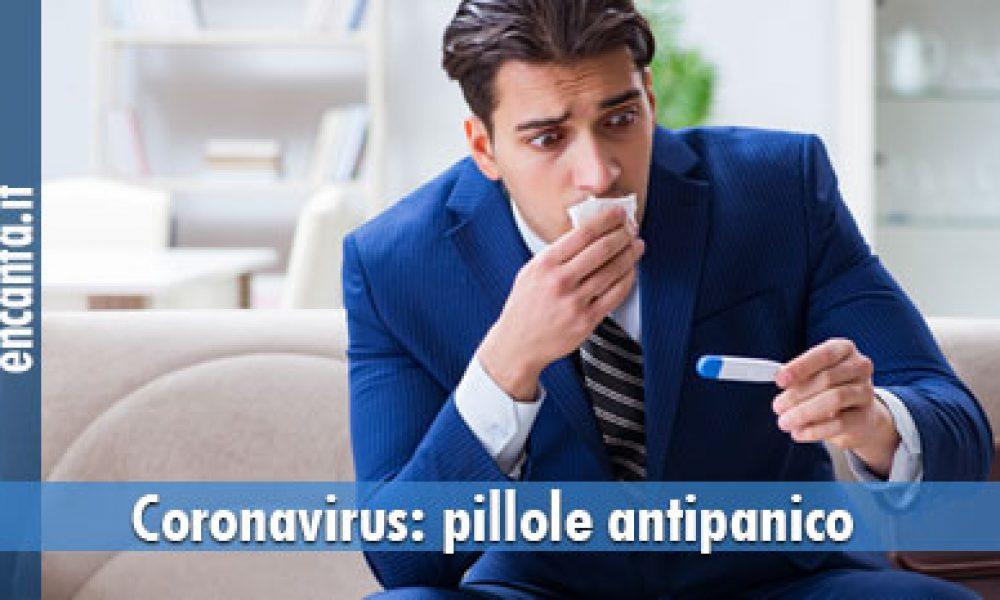 Coronavirus, pillole antipanico