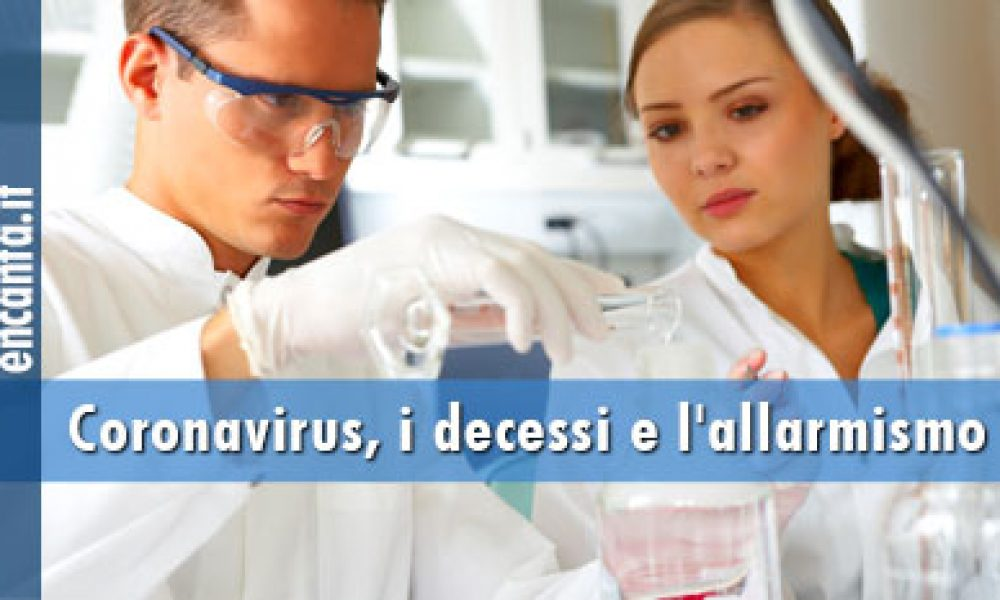 Coronavirus, i decessi e l'allarmismo