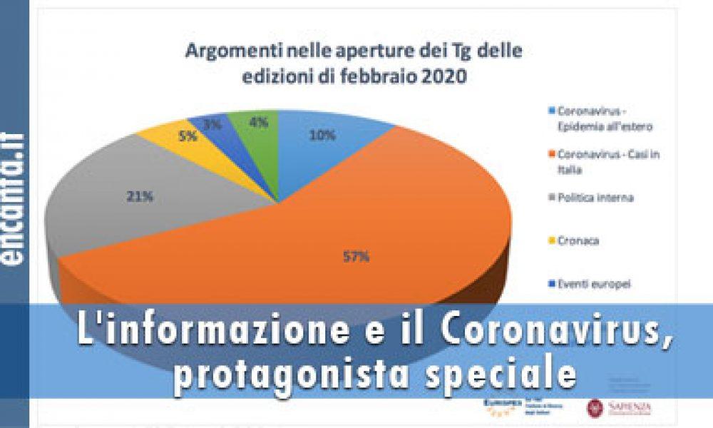 L'informazione e il Coronavirus, protagonista speciale