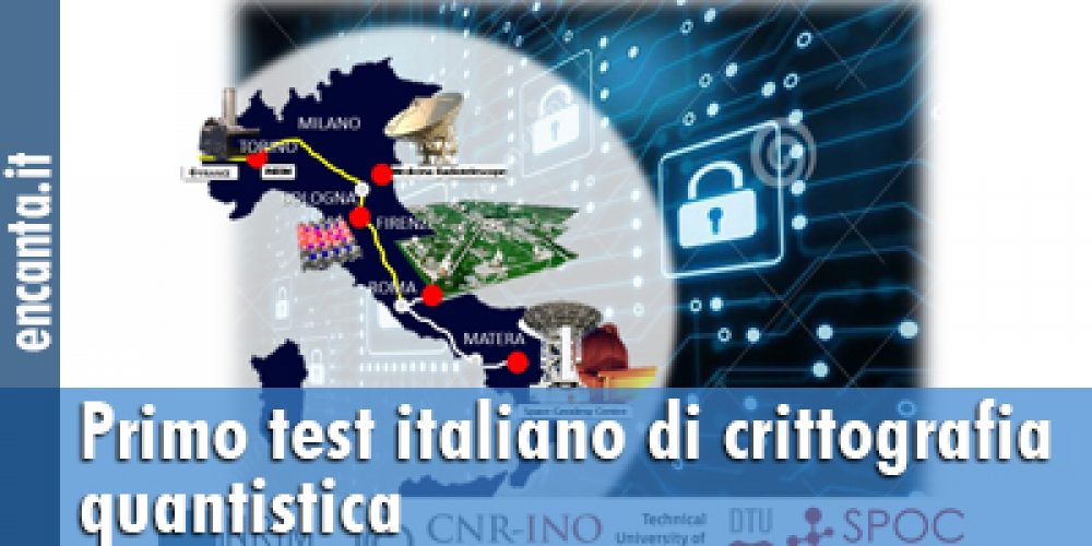 Primo test italiano di crittografia quantistica