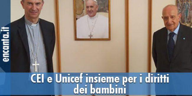COVID-19 e Infanzia, Protocollo d'Intesa tra CEI e UNICEF Italia