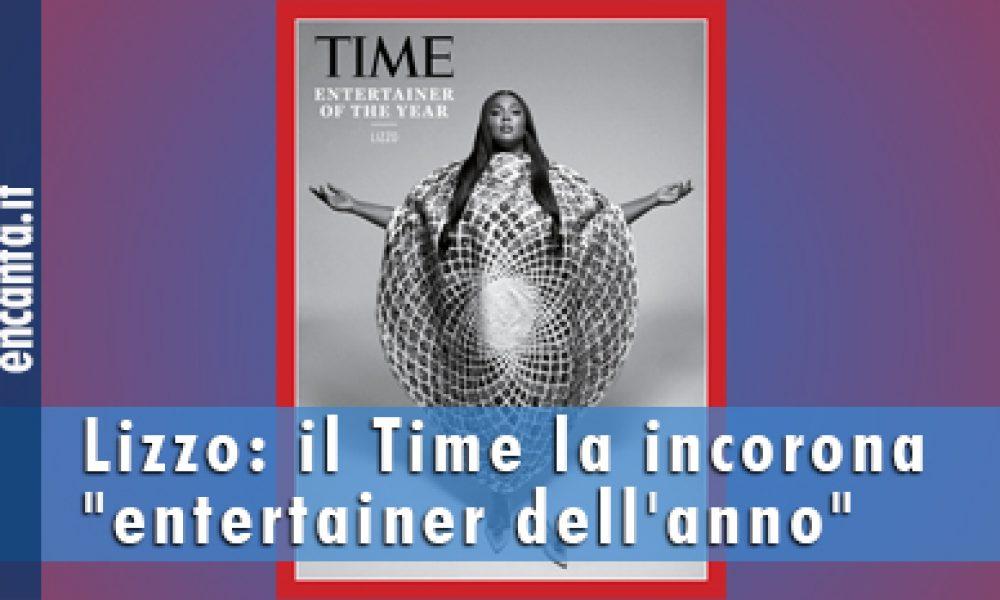 """Lizzo: il Time la incorona """"entertainer dell'anno"""""""