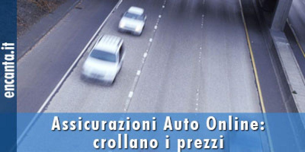 Assicurazioni Auto Online: crollano i prezzi