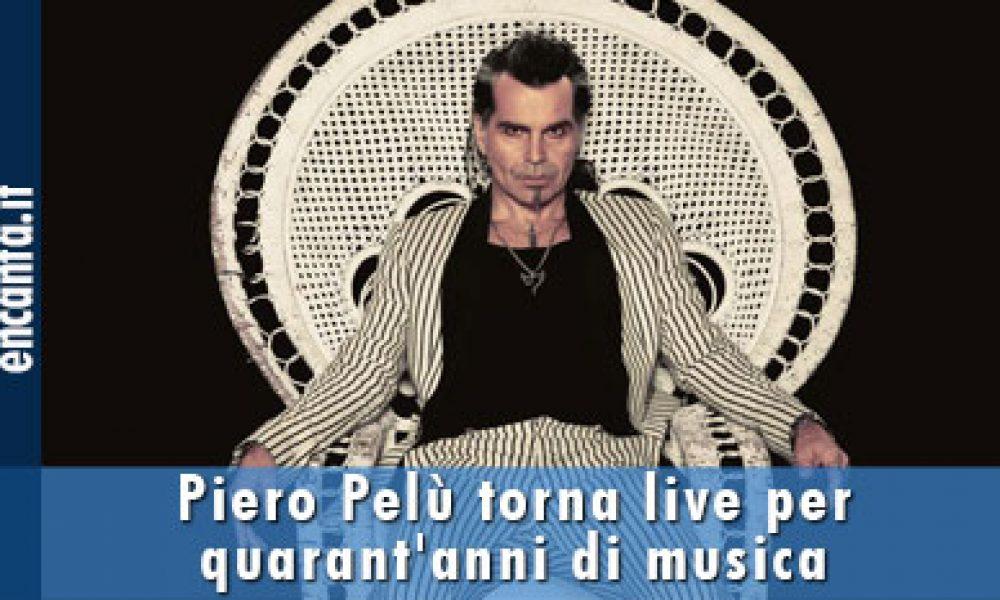 Piero Pelù torna live per quarant'anni di musica