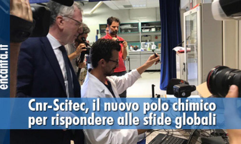 Cnr-Scitec, il nuovo polo chimico per rispondere alle sfide globali