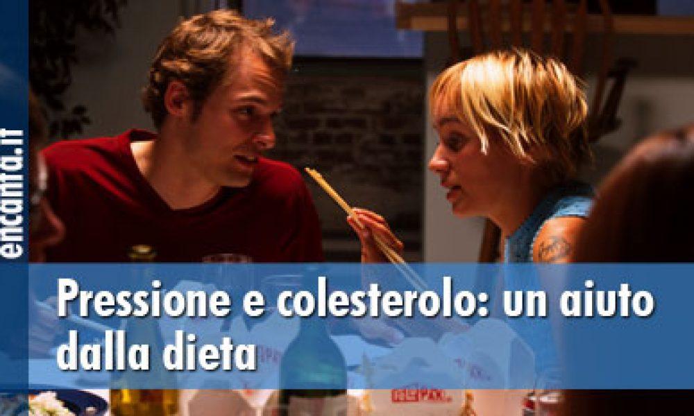 Pressione e colesterolo: un aiuto dalla dieta