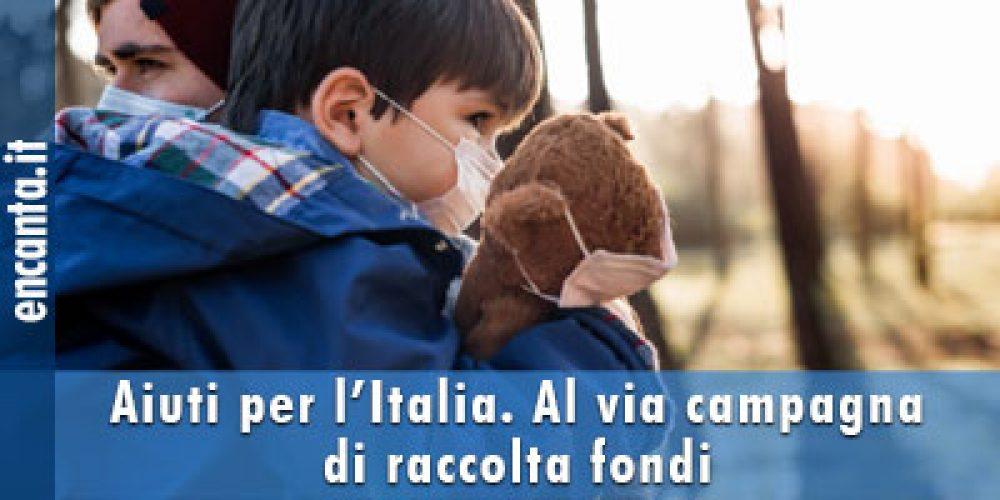 Aiuti per l'Italia. Al via campagna di raccolta fondi