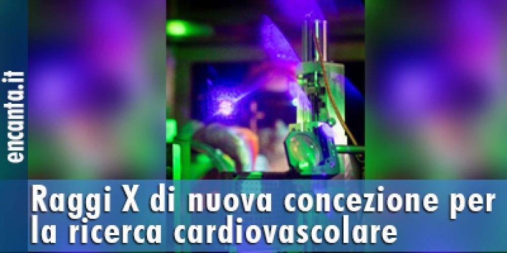 Raggi X di nuova concezione per la ricerca cardiovascolare
