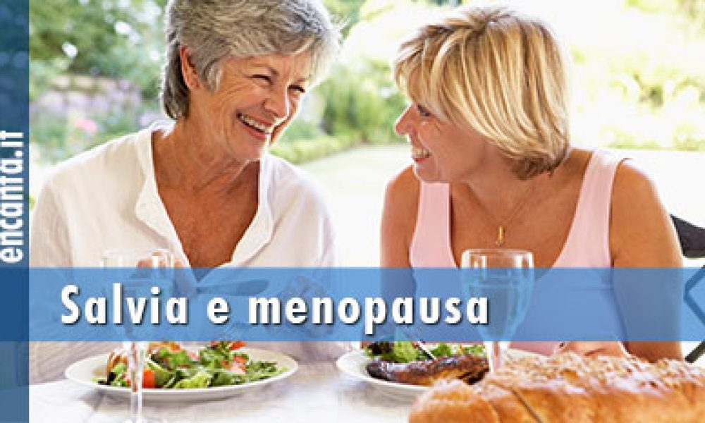 La salvia per la menopausa