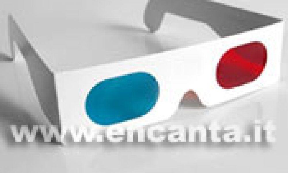 Occhiali 3D, cautela nell'uso