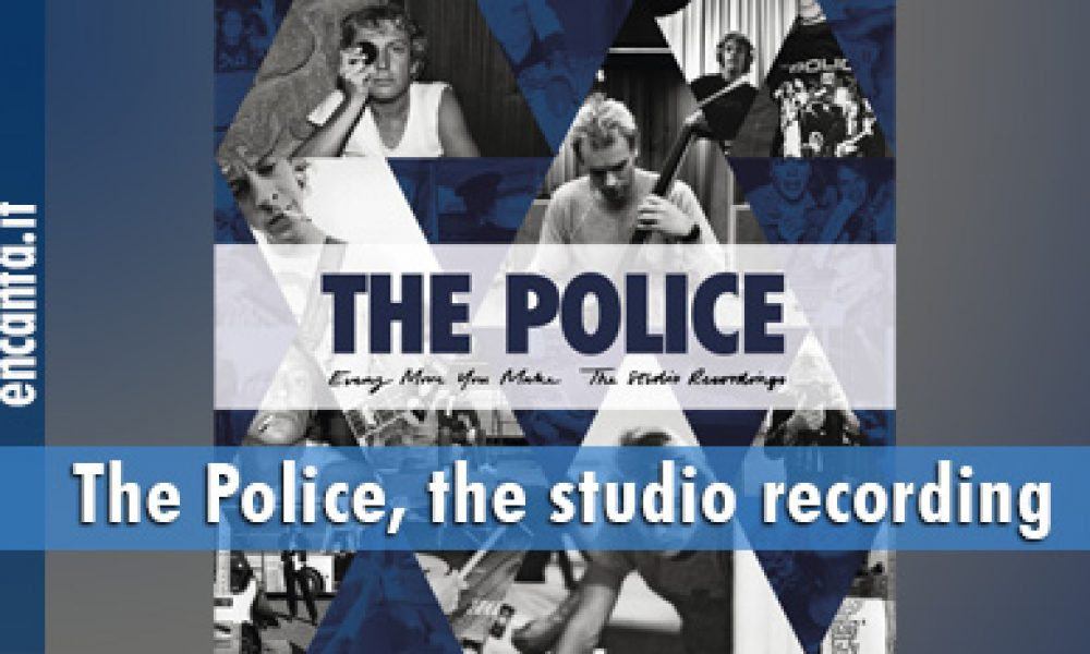 The Police, the studio recording