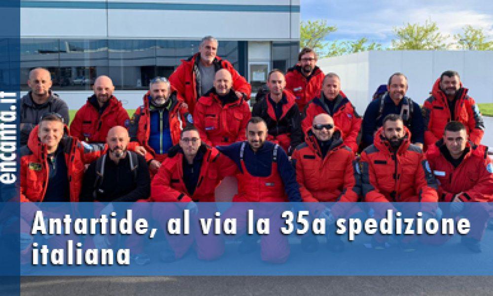 Antartide, al via la 35a spedizione italiana