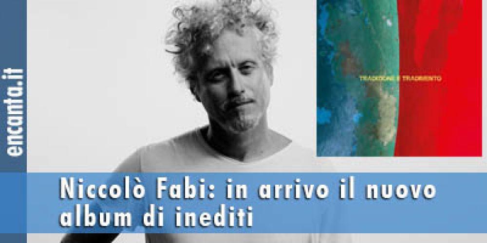 Niccolò Fabi: in arrivo il nuovo album di inediti
