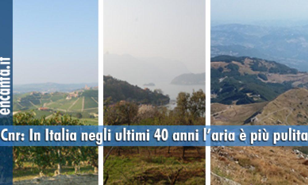 Cnr: In Italia negli ultimi 40 anni l'aria è più pulita
