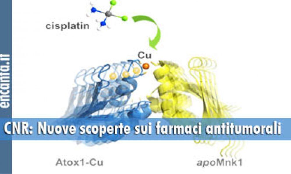 CNR: Nuove scoperte sui farmaci antitumorali