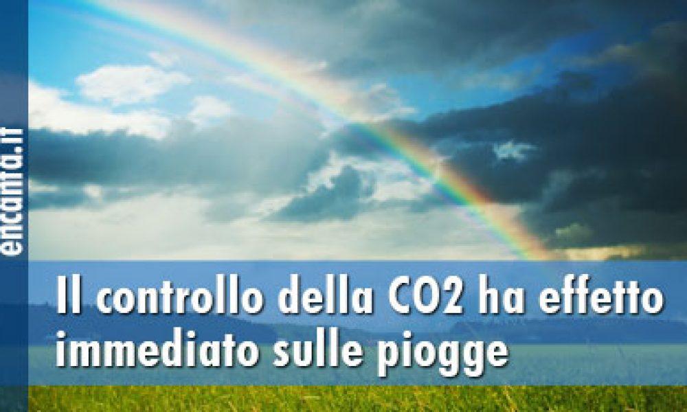 Il controllo della CO2 ha effetto immediato sulle piogge