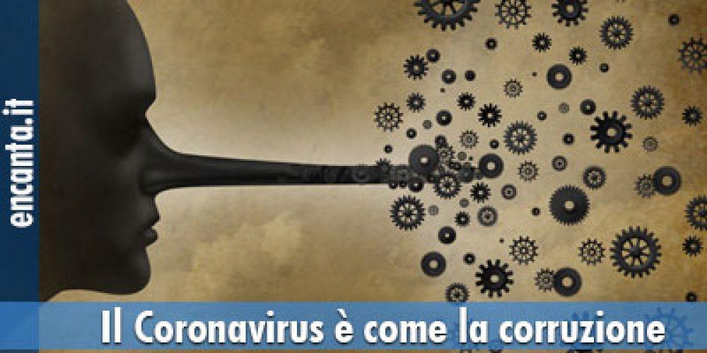 Il Coronavirus è come la corruzione