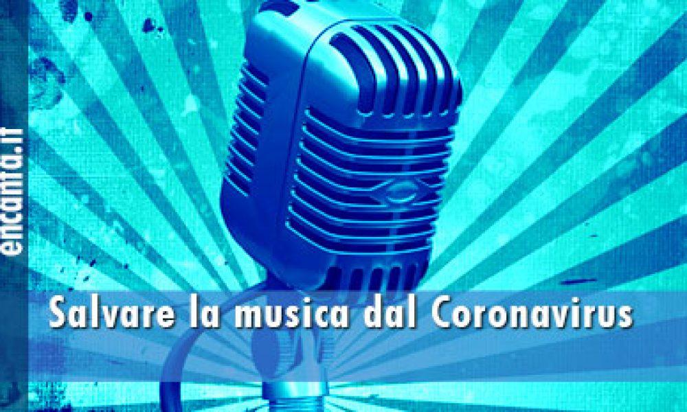 Salvare la musica dal Coronavirus