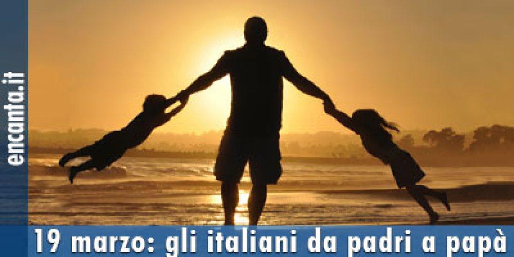 19 marzo: gli italiani da padri a papà