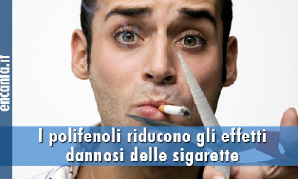 I polifenoli riducono gli effetti dannosi delle sigarette elettroniche