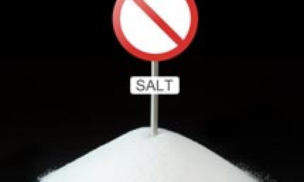 Meno sale più salute