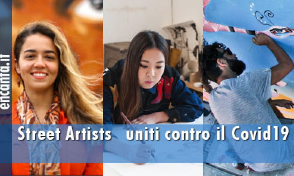 Street Artists uniti contro il Covid19