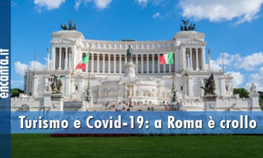 Turismo e Covid-19: a Roma è crollo