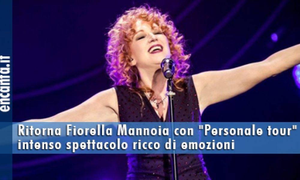 Fiorella Mannoia, foto, tour, Personale